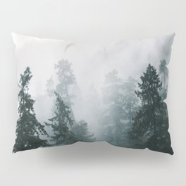 Forest Fog X Pillow Sham