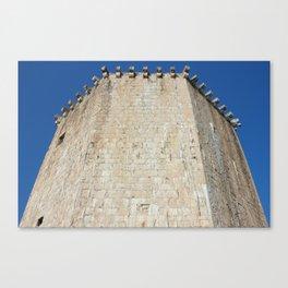 The Veriga Tower In Trogir Canvas Print