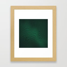 Intertwined Matrix Framed Art Print