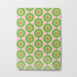 Green Lemon Metal Print