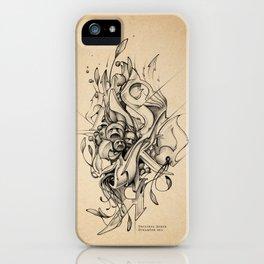 DinamInk #01 iPhone Case