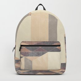 Dusty Triangle columns - fall colors Backpack