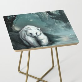 Spirit Bear Side Table