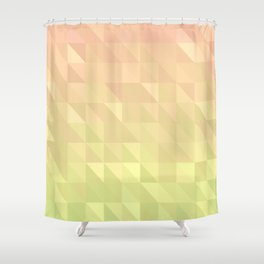 Pink and Green - Flipped Shower Curtain