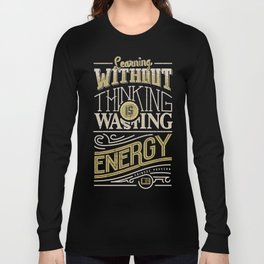 Learning thinking Long Sleeve T-shirt