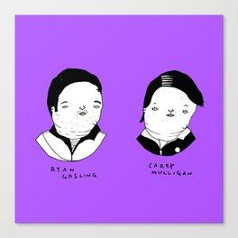 Drive characters Canvas Print