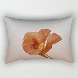 Portrait of Nasturtium no 2 Rectangular Pillow