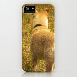 What does Maisie see? iPhone Case