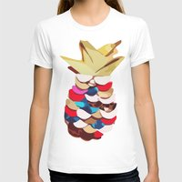 pineapples T-shirts featuring Twin Pineapples by Lumikka