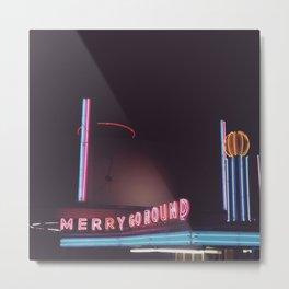 merry go round Metal Print