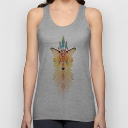 fox spirit  Unisex Tank Top