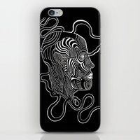 anatomy iPhone & iPod Skins featuring Anatomy  by Martha Calderon