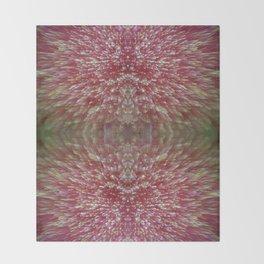 Floral Shimmer Bloom Throw Blanket