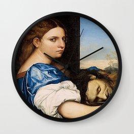 Salome - Sebastiano del Piombo Wall Clock