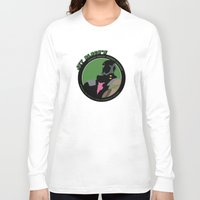 bebop Long Sleeve T-shirts featuring Bebop Jet by AngoldArts