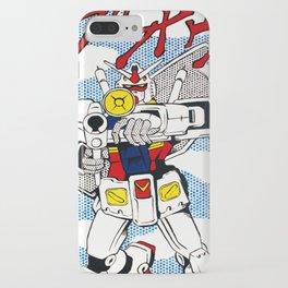 POP FUSION - R-78 Gundam iPhone Case