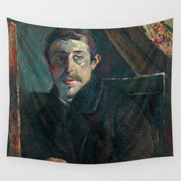 1885 - Gauguin - Self-Portrait Wall Tapestry