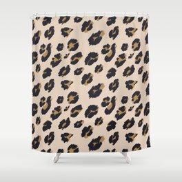 B&B Leopard Design Shower Curtain