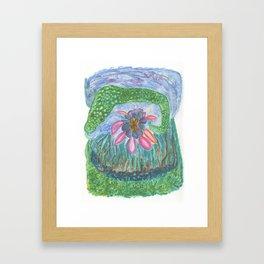 Drawing #136 Framed Art Print