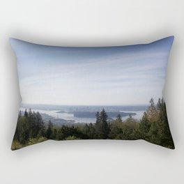 Vancouver Lookout Mount Cypress Rectangular Pillow