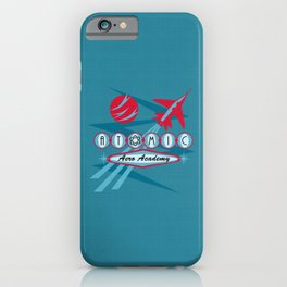 Atomic Aero Academy iPhone Case