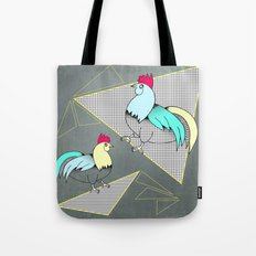 Coq français - French rooster Tote Bag