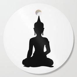 Simple Buddha Cutting Board