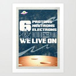 311 - Galaxy Art Print