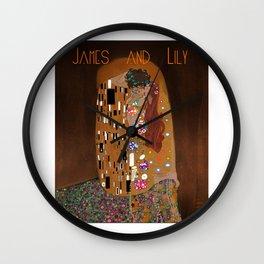 KlimtPotter Wall Clock