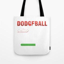 Throwing Ball Hit Opponents Ballgame Gameplay Sports Gift Dodgeball Skills Loading Tote Bag