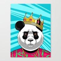 big poppa Canvas Prints featuring BIG POPPA by Liomal