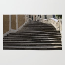 Up the Top of the Spanish Steps Rug