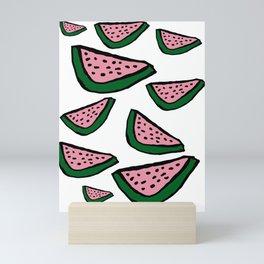 Watermelons Print Mini Art Print