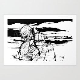 Thirst for Battle Art Print