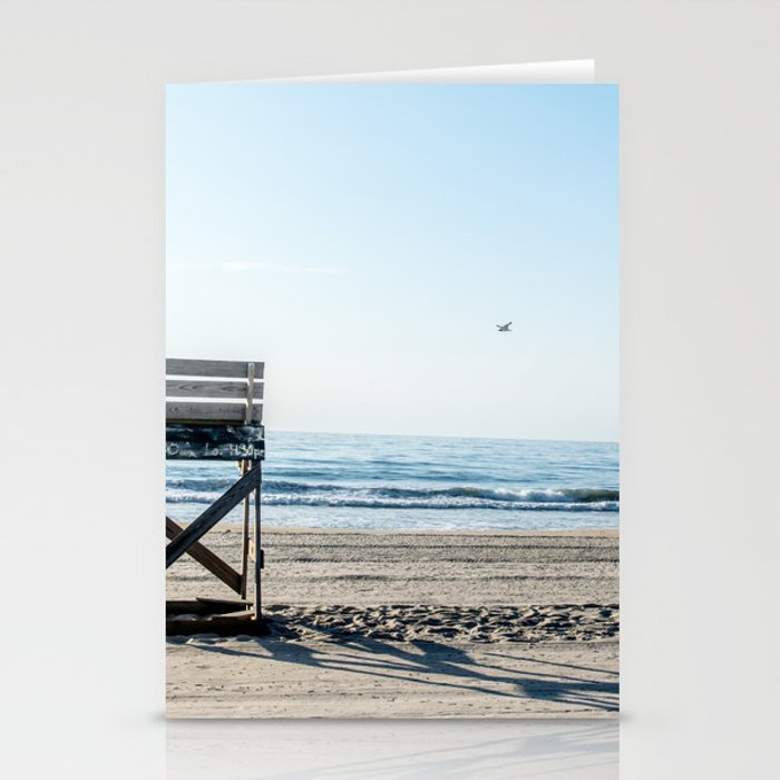 While the Lifeguards Away Stationery Cards