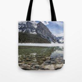 Lake Louise, Mid May, Mid Day Tote Bag