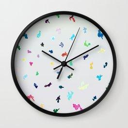 CASCADE/ GREY/ MINT Wall Clock