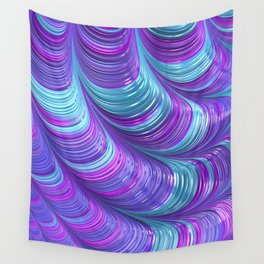 Jewel Tone Abstract Wall Tapestry