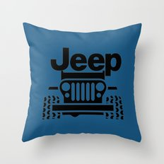 Jeep Classic Throw Pillow