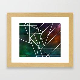 Intergalactic SOS Framed Art Print