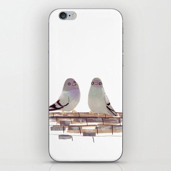Pigeons in love iPhone & iPod Skin
