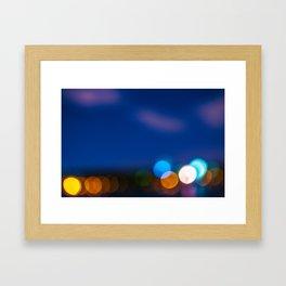 Light focus Framed Art Print