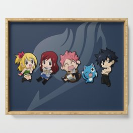 Chibi Friends Serving Tray