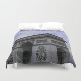 The Arc de Triomphe de l'Etoile Duvet Cover