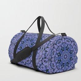 Flower Clock Duffle Bag