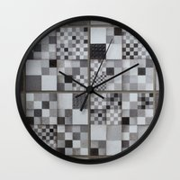 chess Wall Clocks featuring Chess  by Geometric Arte Studio