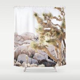 Close Up Of Joshua Tree In Desert Shower Curtain