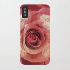 La Virgen de Guadalupe series: Worship of the Rose iPhone X Slim Case