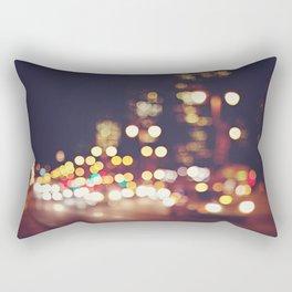 San Francisco Blur Rectangular Pillow