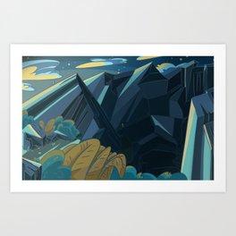 Avalon 2 Art Print